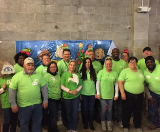 2019 Elf Week at Salvation Army with partners, BGE.